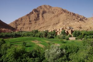 natural landscape morocco