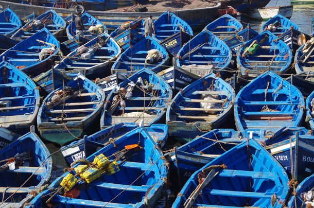 ESSAOUIRA-Collection-of-blue-boats-S15