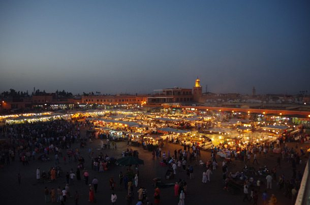 MARRAKECH-Djemaa-el-Fna-at-dusk-1-F14