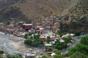 Setti Fatma Village from above