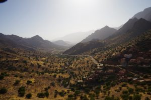 Romantic village in Souss Valley