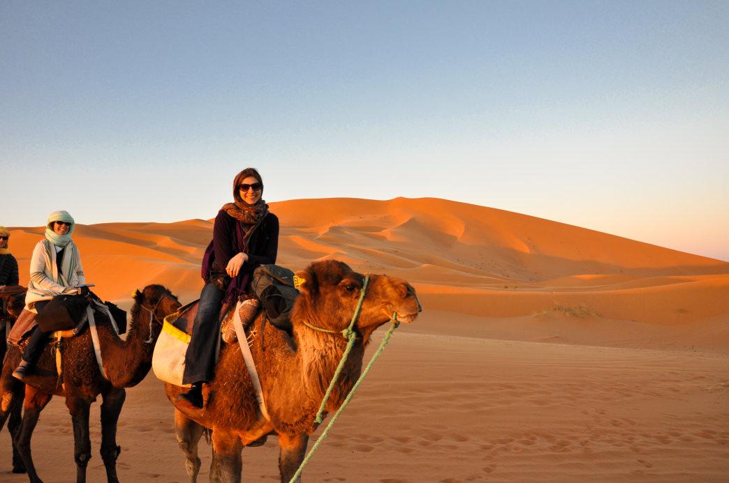 Camel Caravan Desert Trek Morocco